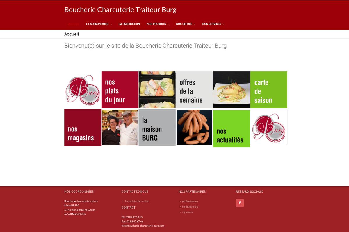 BOUCHERIE CHARCUTERIE BURG